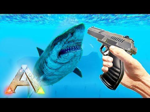 ARK Survival Evolved : UNDER WATER BATTLES!! (Ragnarok Gameplay)