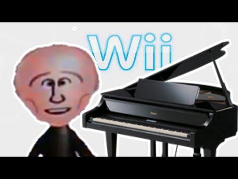 Vladimir Putin playing Wii Music on the Piano