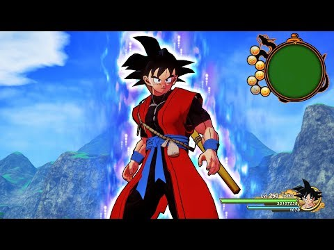 NEW Xeno Goku Costume ALL Transformations in Dragon Ball Z Kakarot (MODS)