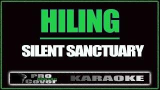 Hiling - SILENT SANCTUARY (KARAOKE)