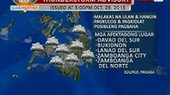 BP: Weather update as of 3:59 p.m. (Oct. 28, 2013)