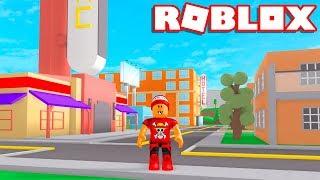 Roblox → CONSTRUINDO UMA CIDADE !! - Roblox Town Tycoon 🎮