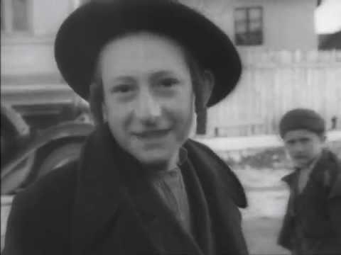 Historical Footage of Prewar Jewish Life in Ukraine