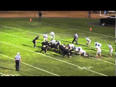 Cabrillo High School Running Back Bryce Moses #34 Vs. Templeton High School Highlights 2013