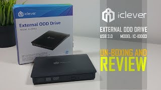 iClever External USB 3.0 DVD CD Drive Portable DVD CD RW - Un-boxing And Review