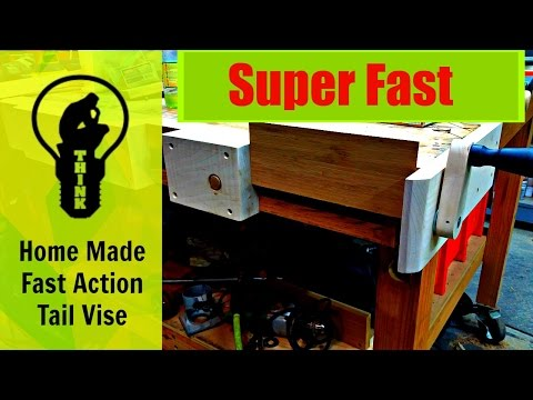 DIY – Fast Action Vise for Woodworking