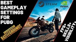 PUBG - 2020 - Settings for Best FPS In 2020 - Visibility - Skills - Nvidia Graphic - Launch Options