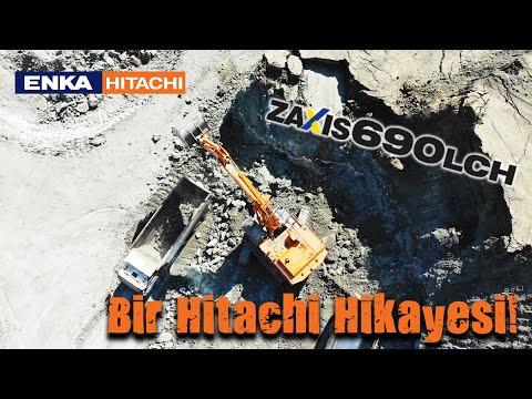 Bir Hitachi Hikayesi (A Hitachi Story) ZX690LCH-5A Ekskavatör (Excavator) Kömür Ocağı Güvensoy Group