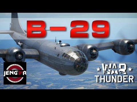 War Thunder Realistic: B-29A-BN Superfortress [Grace]