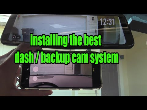 How to install Auto-Vox Dash cam & Wiring a Backup Camera Rear view M Auto Wiring Diagram Vox on