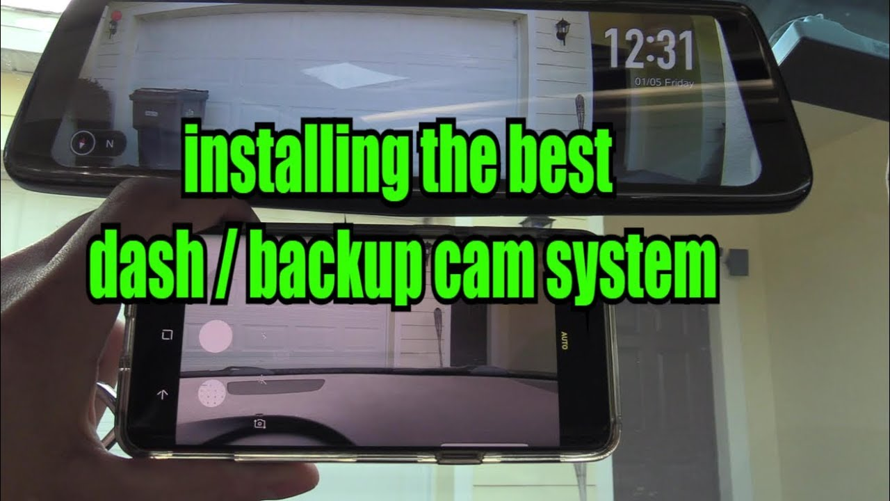 backupcam cartech carinstall [ 1280 x 720 Pixel ]