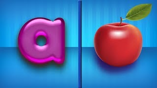 Lower Case Letters | Letters For Toddlers  Alphabets For Kids  ABCD For Children  A For Apple
