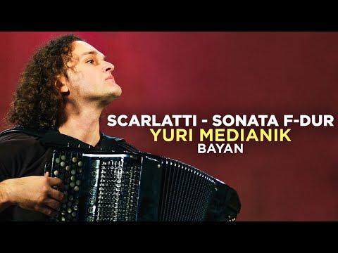Scarlatti. Sonata F-dur. Yuri Medianik (bayan). Скарлатти. Юрий Медяник