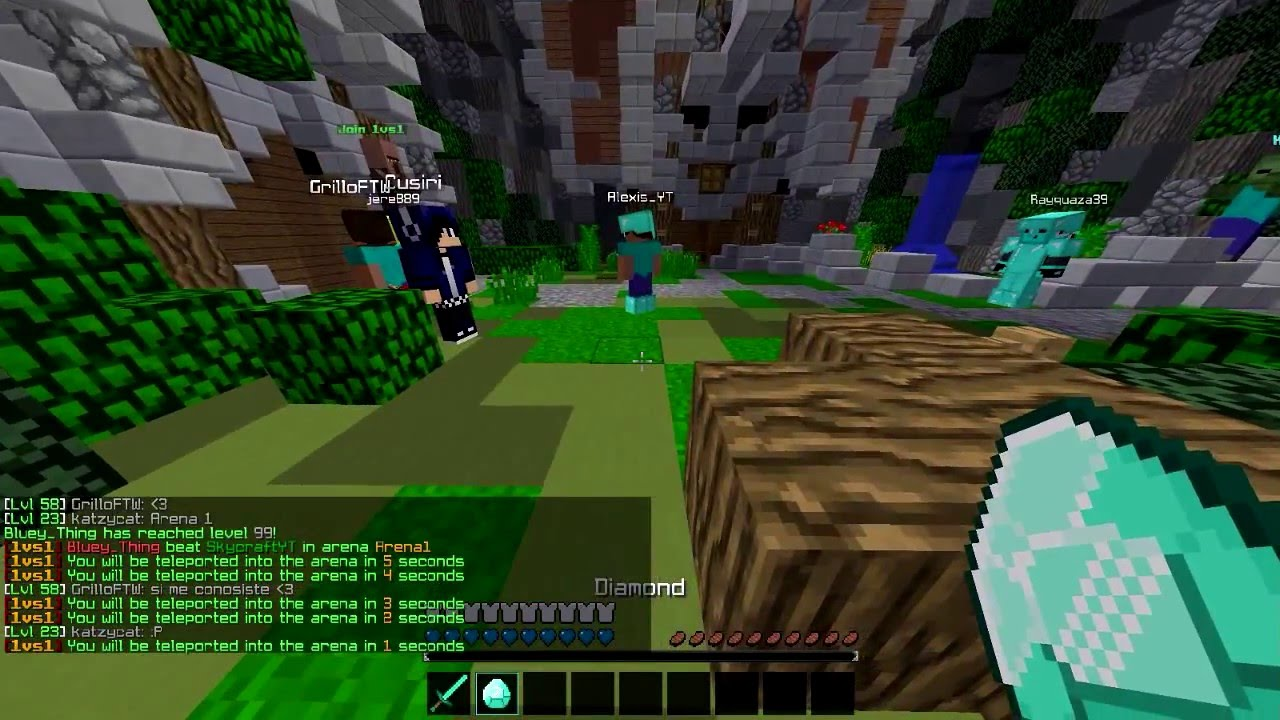 1vs1 Top Minecraft Server TopG