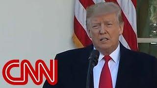 Trump announces shutdown deal with no money for border wall