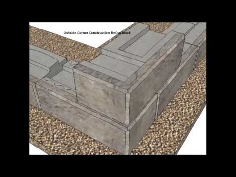 installation instructions recon retaining walls - Block Retaining Wall Design Manual