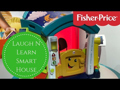 Toy Fair 2018 -  Fisher Price Laugh N Learn Smart Learning House