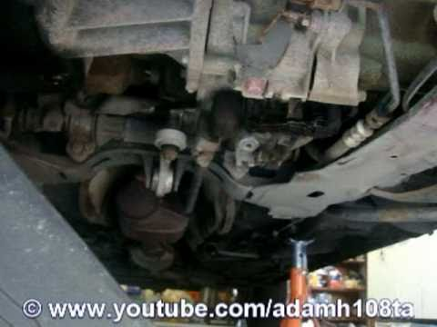 How To Drain Amp Refill Manual Transmission Oil Youtube