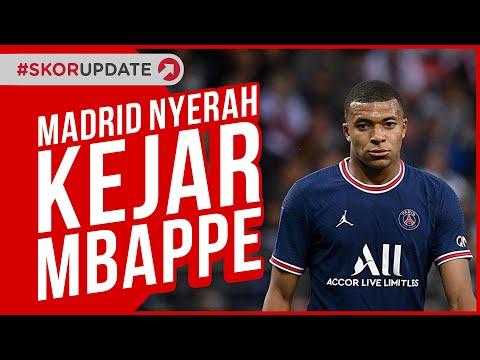 Real Madrid Nyerah Datangkan Kylian Mbappe dari PSG