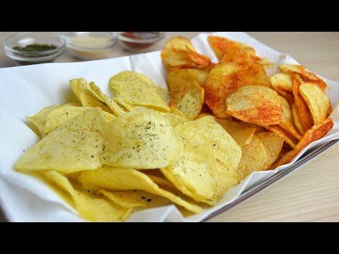 How to Make Potato Chips - Easy Homemade Potato Crisps Recipe