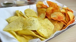 potato chips 4 ways