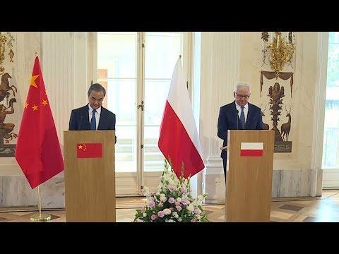 China's Wang Yi Strengthening Ties With Poland On European Trip