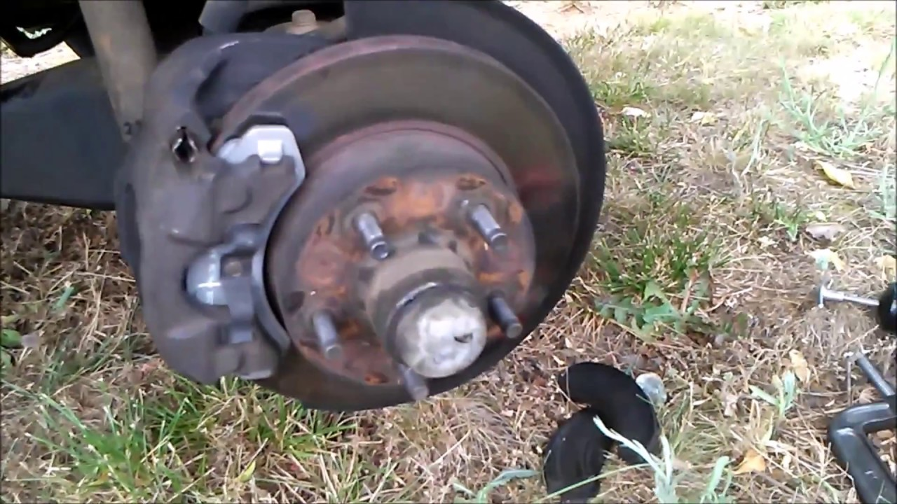 how to change the front brakes on a 1992 ford ranger [ 1280 x 720 Pixel ]