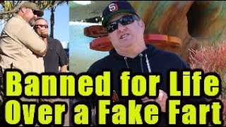 Funny Wet Fart Prank |The Sharter | At Sea World | Banned for Life