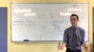 Polynomial Division (2 of 4: Introduction to Synthetic Polynomial Division)