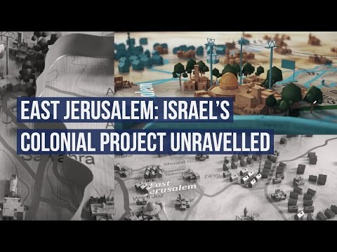 East Jerusalem: Israel's Colonial Project Unravelled