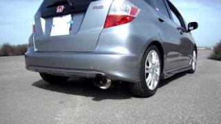 Honda Fit Greddy Ti-C Exhaust (Axle Back)