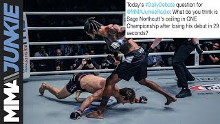 Daily Debate: What do you think is Sage Northcutt's ceiling in ONE Championship after debut loss?