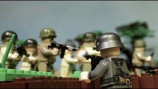 """Лего фильм Братья по оружию: """"Нормандия 1944. День """"Д"""" Битва за поместье Брекур."""" Все серии вместе."""