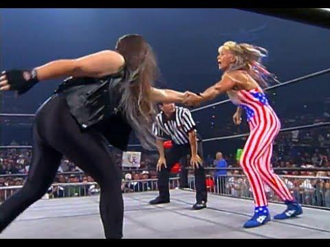 (720pHD): WCW Nitro 07/27/99 - Madusa vs. Patty Stone Grinder (Leilani Kai)