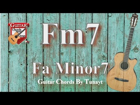 ? Fa7 minor | How to play Fm7 chord on guitar | Fa minor 7 Akoru Gitarda Nas?l Bas?l?r ?