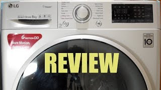 LG Front Load Washing Machine FHT1208SWL - Review