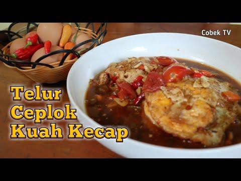 resep-masakan-sederhana-telur-ceplok-kuah-kecap-pedas