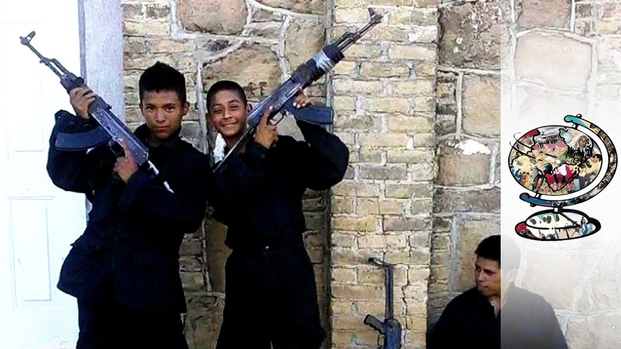 The Child Soldiers Of Mexico's Drug Gangs - YouTube