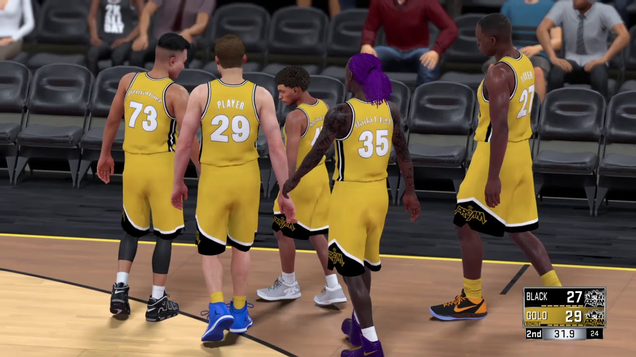 how to get to walk on nba 2k18