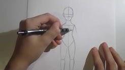 Kuinka piirtää manga: Tytön keho [OSA 1]