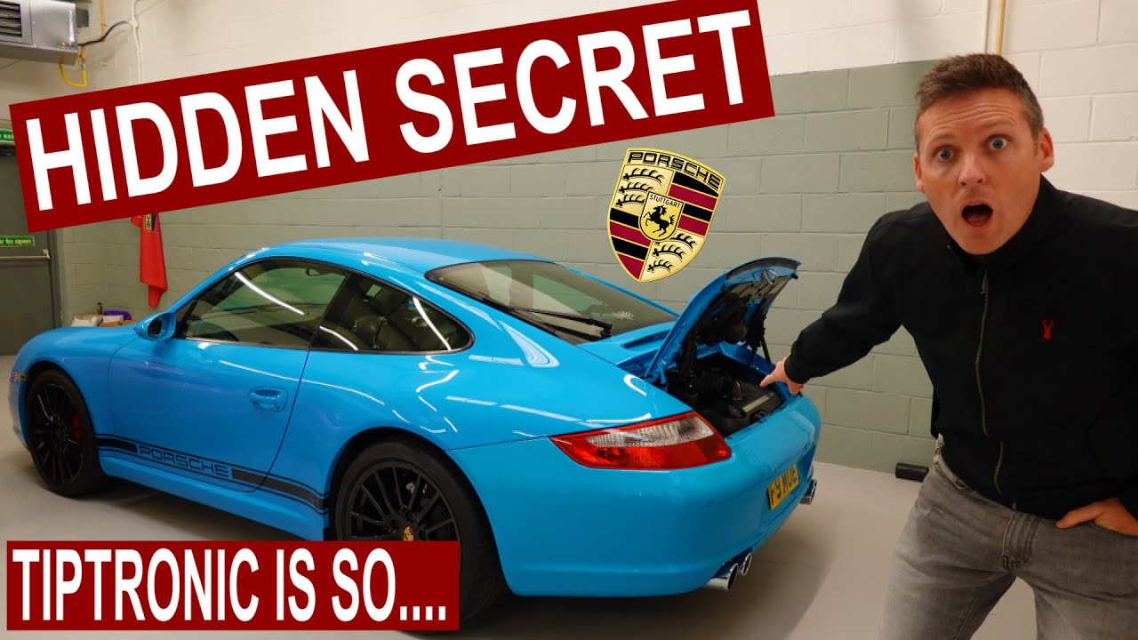 The HIDDEN Secret Behind this TIPTRONIC 997 Carrera S In Riviera Blue