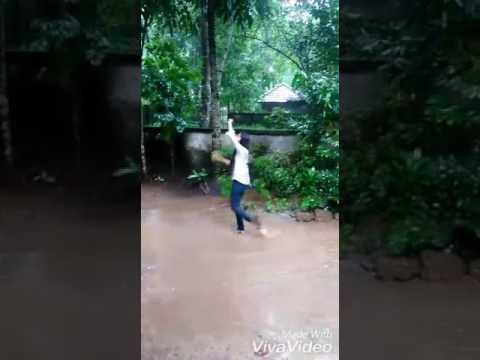 Kerala Girl Viral Rain Dance