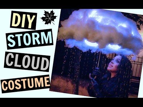 Diy Glowing Storm Cloud Costume Pinterest Maddie Ryles