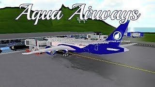 ROBLOX | Aqua Airways Boeing 787-8 Flight