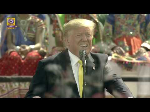 "Download US President Donald Trump Addresses at the ""Namaste Trump"" Event"