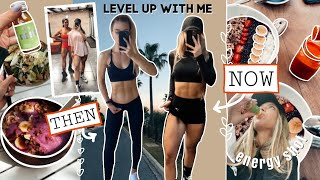 How I Get RESULTS & Level Up (WHAT I EAT & WORKOUT)