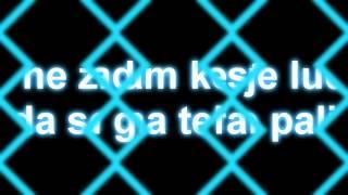 Tose Proeski~ Ledena {Tekst/Lyrics}