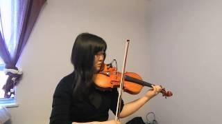 """Erasure - """"A Little Respect"""" ~ Violin Cover"""