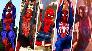 Web Swinging Evolution in Spider-Man Games