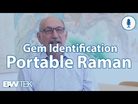 Gem Identification with Expert Gemologist Using Portable Raman Spectroscopy